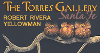 Buy Robert Rivera art pieces and other fine Southwestern art at Torres Gallery in Santa Fe, New Mexico